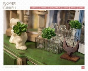 Flower + Furbish Website
