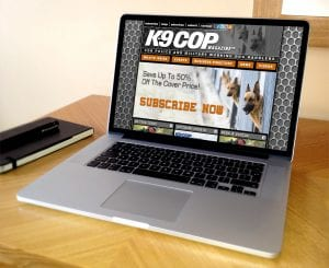 K-9 Cop Magazine Website